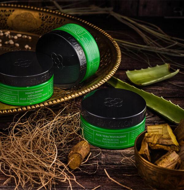 SANDALWOOD VETIVER - Hair Nourishing Balm 200g-4424