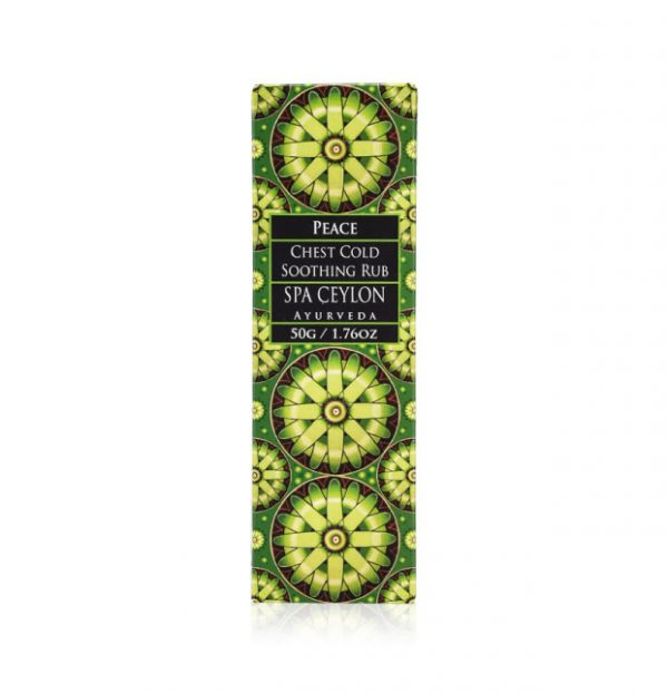 PEACE - Chest Cold Soothing Rub 50g-3981
