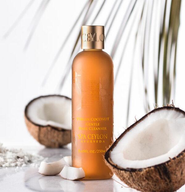 VIRGIN COCONUT - Gentle Hair Cleanser-4416