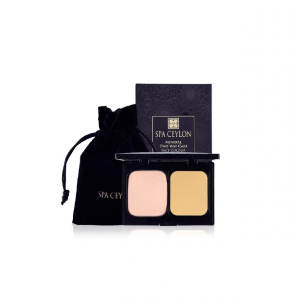 Mineral Two Way Cake Face Colour Compact 01 - Harvest Paddy-4150