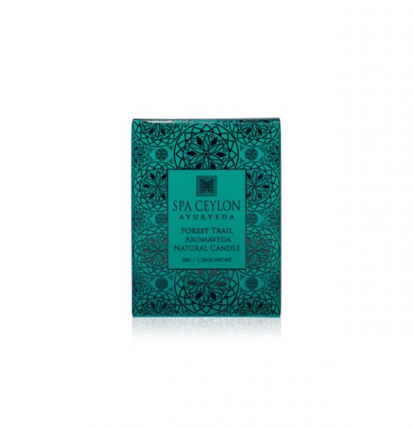 FOREST TRAIL - Aromaveda Natural Candle 50g-3860