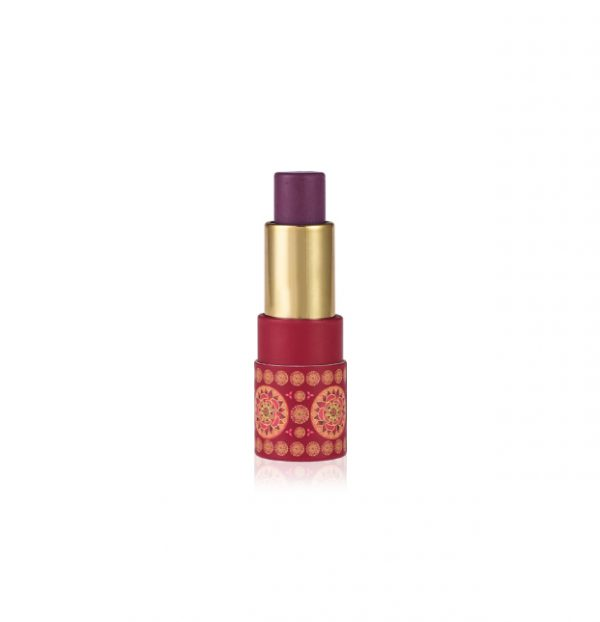 Almond Tinted Lip Balm - Damson SPF 15+-0