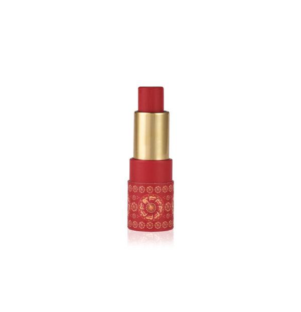 Almond Tinted Lip Balm - Hibiscus SPF 15+-0