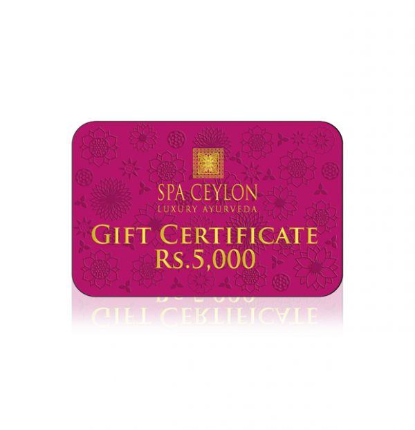 Gift Card Rs. 5000-0