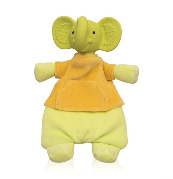 Pancha the Baby Elephant - Natural Soft Baby Toy-0