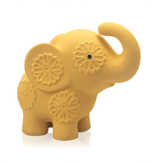 Pancha the Baby Elephant - Natural Soft Rattle Baby Toy-0