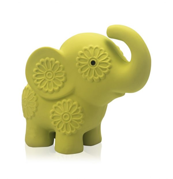 Pancha the Baby Elephant - Natural Soft Rattle Baby Toy-5946